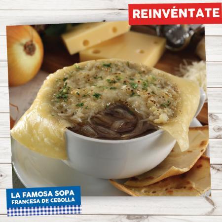 """La Crepe: Nuestra famosa y reinventada """"Sopa de Cebolla"""""""