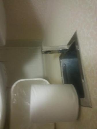 Baymont Inn & Suites Clarksville Northeast: this was unacceptable!