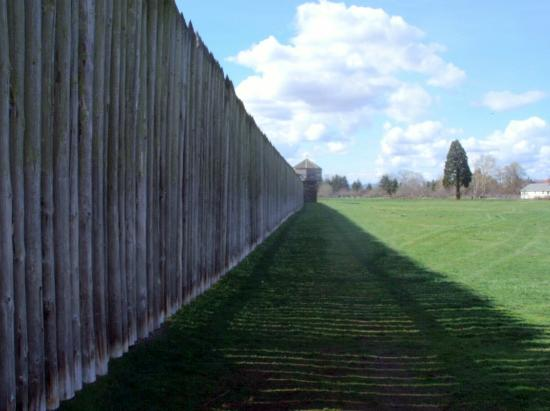 Vancouver, WA: Exterior fence line