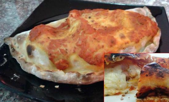 Swiss Italian Restaurant Cebu: Pizza Calzone