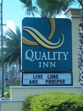 Quality Inn Daytona Speedway : Quality Inn
