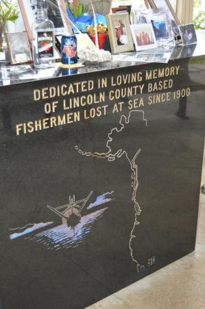 Fishermen's Memorial Sanctuary: Honor Wall
