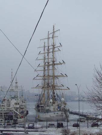 Pallada and Nadezhda Sailers