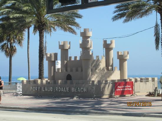 Las Olas Beach The Sand Castle During Day