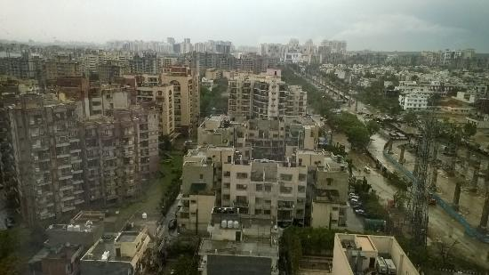 DoubleTree by Hilton Gurgaon-New Delhi NCR: View from my room