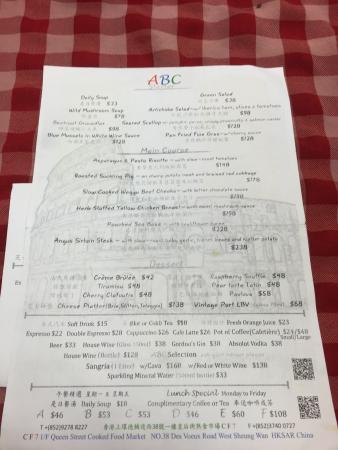 abc kitchen the seasonal menu march 2013