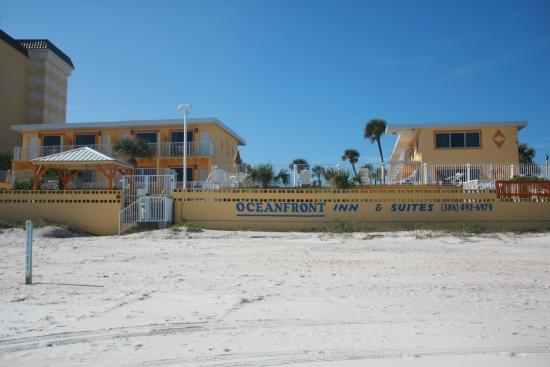Oceanfront Inn And Suites Looking At Hotel From The Beach