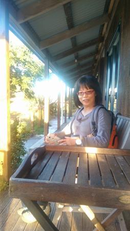Abseil Breakfast Inn: patio