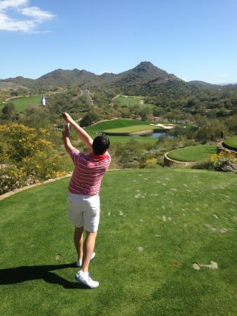 Quintero Golf Club: Millikin university Blaine buente