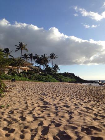 Palauea Beach: Looking south