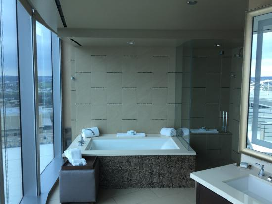 Walkin Shower and bath - Picture of Omni Dallas Hotel, Dallas ...