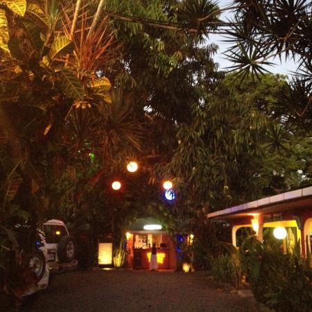 Buddha House Boutique Hostel: The car park