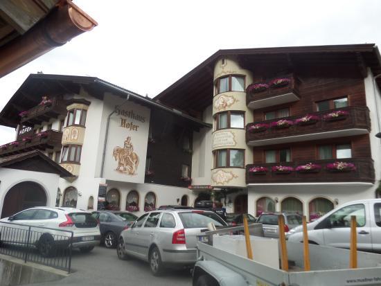 Gasthaus Hofer: Chegando ao hotel...