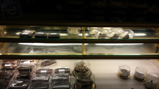 Wegmans Market Cafe: Dessert case missing most regular items