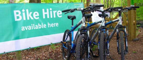 Bike hire, routes from Cartmel