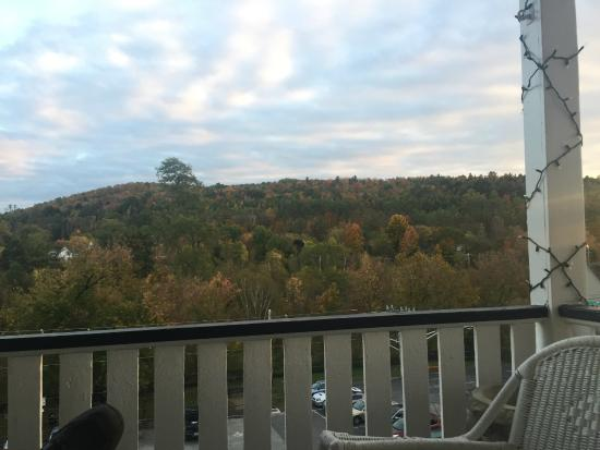 Thayers Inn: hotel balcony