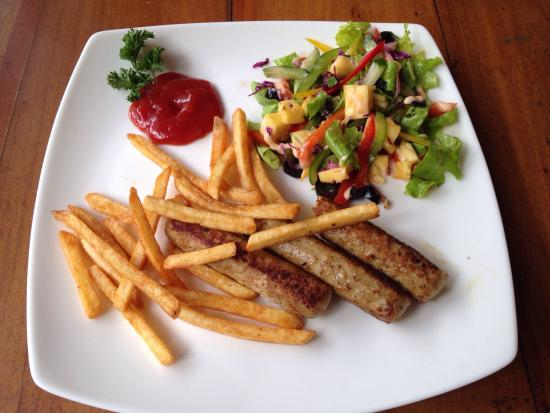 The Mansion Cafe: Chicken Kebab