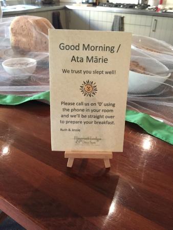 Flagstaff Lodge & Day Spa : Une partie du petit déjeuner
