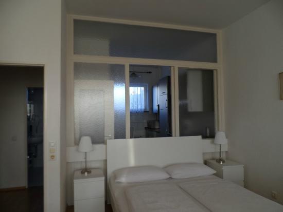 Aparthotel Vega: letto matrimoniale