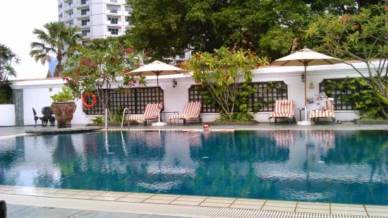 Pool At Raffles Picture Of Raffles Hotel Singapore Singapore
