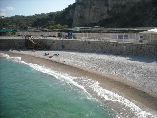 Massa Lubrense, Włochy: spiaggia portiglione