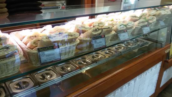 Hosteria del Panino: Il bancone dei panini