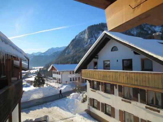 Edelsberg: Skøn udsigt fra hotellejligheden