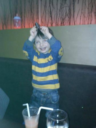 Buddha Belly: my 18 months old loving the restaurant