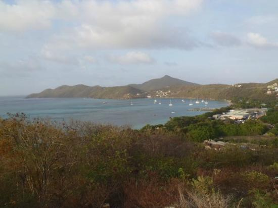 Charlestown, Canouan: View of the bay