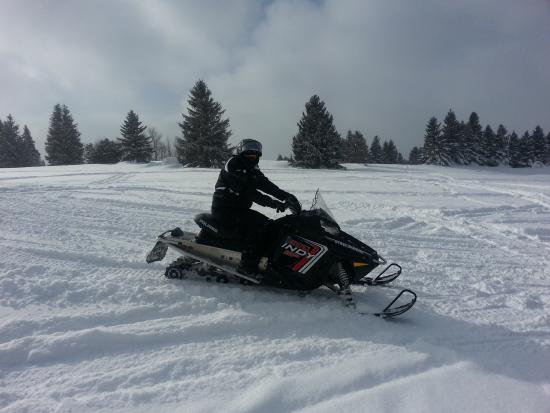 Indianhead Mountain - Big Snow Resort: Snowmobiling