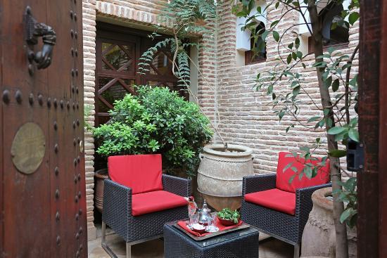 Standard suite picture of la maison arabe marrakech for A la maison en arabe