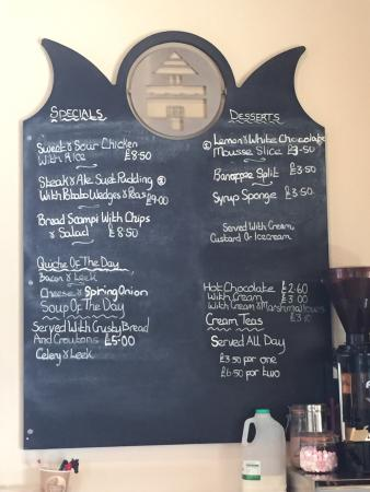 Proper Home Cooked Food Menu Everything Being Made In The Kitchen While We Had Lunch Picture Of Grocer Chef Ardington Tripadvisor