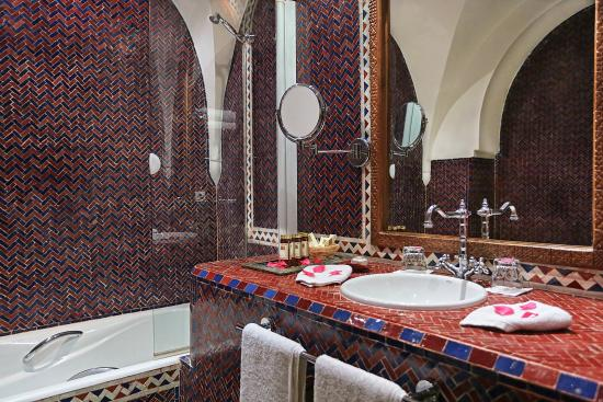 Standard suite picture of la maison arabe marrakech for A la maison en arabe