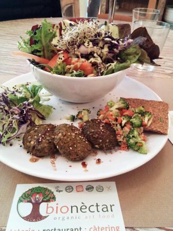 Bionectar Eco Living Raw Food: Plato del dia