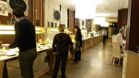 roseo euroterme wellness resort buffet