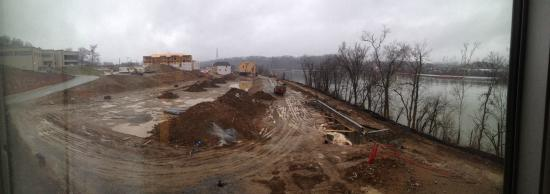 SpringHill Suites Chattanooga Downtown/Cameron Harbor: Good view about to be taken away