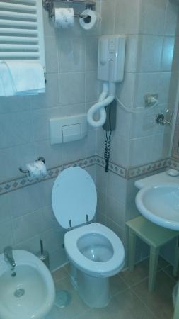 Hotel Due Torri: bagno, molto pulito