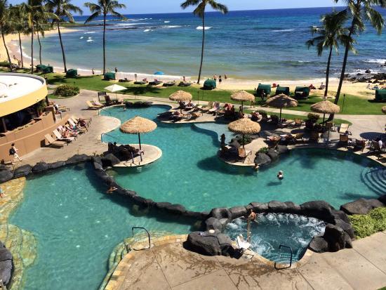 Sheraton Kauai Resort: View from room