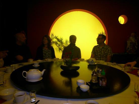 San San China Restaurant : ambiente asiático
