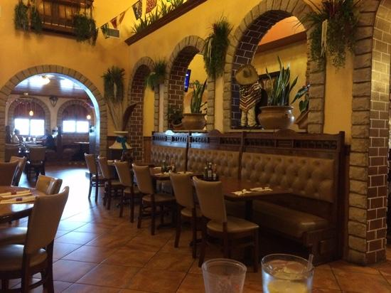 Open roomy decor picture of casa fiesta mexican grill