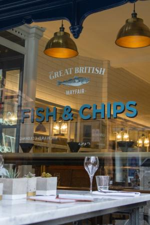 The Mayfair Chippy, Fish and Chips