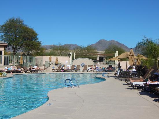 Scottsdale Links Resort: pool view