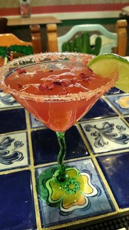 Casa Valadez: Rose Petal Margarita!