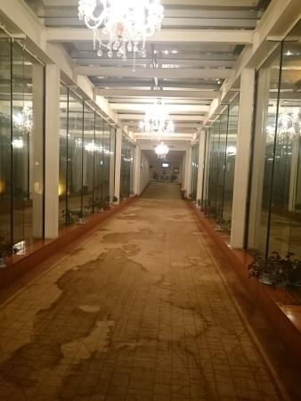 Zijing Hotel : Dirty carpet