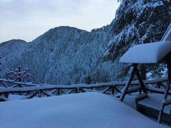 Aamod at Dalhousie: view from our cottage