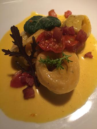 Washington, VA: Confit of Rabbit Tortellini w/ Saffron Butter