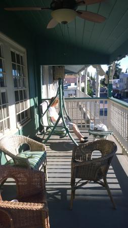 Jamestown, كاليفورنيا: Veranda vorn