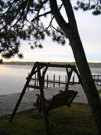 White Eagle Resort on Lake Vermilion: Sit and read a book