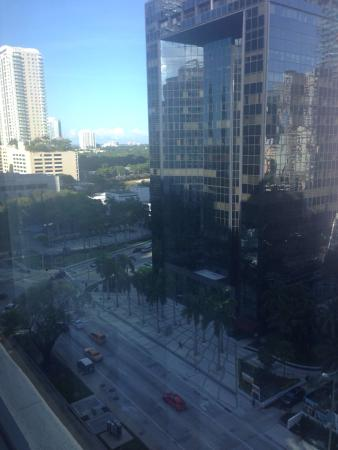 JW Marriott Miami: View from my room