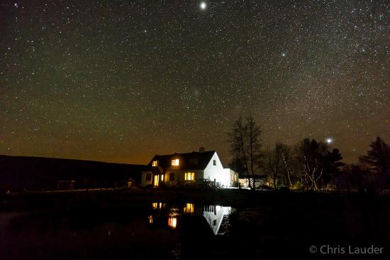 Laide, UK: Enjoy unrivalled views of the night sky